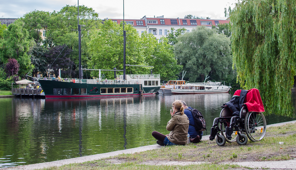 quality of life is accessible to all by Landwehrkanal