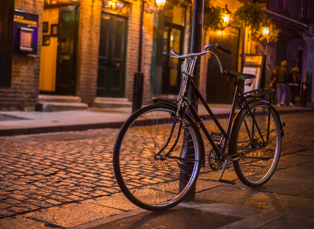 Bicycle at Temple Bar Area