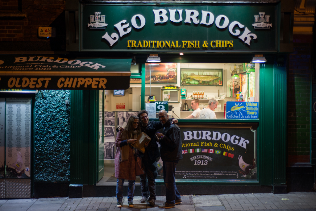 Oldest Dublin fish and chips